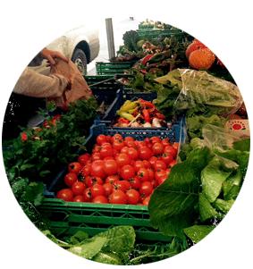 Coleshill Organics at Stroud Farmers