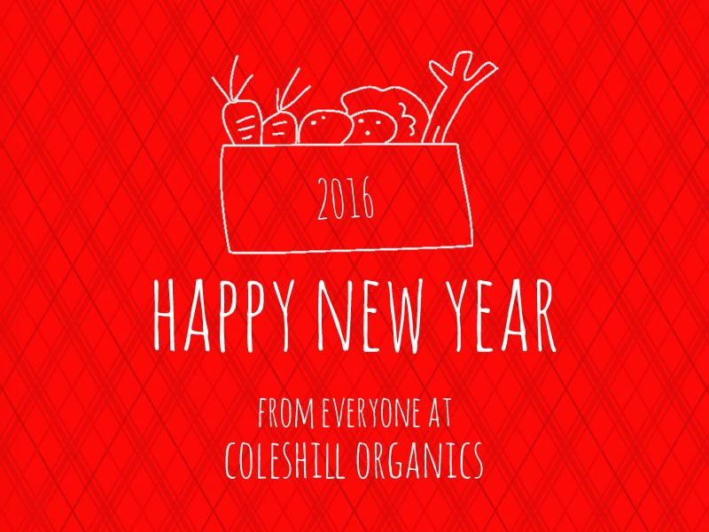 Happy New Year 2016 from Coleshill Organics